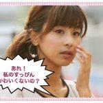 加藤綾子のすっぴんかわいくない【CMの顔が中村玉緒そっくり】