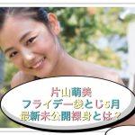 片山萌美のヌーヘア袋とじ全画像2017年5月フライデー最近がヤバイ