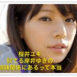 桜井ユキと似てる岸井ゆきの・西内まりやは姉妹?兄弟も調べてみた